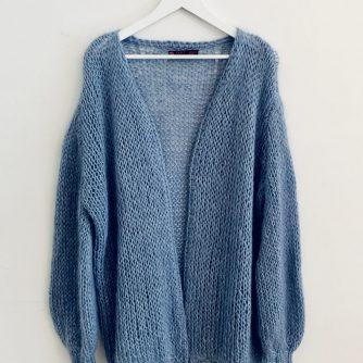 blauw trui oversized