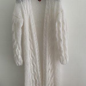 Witte cardigan